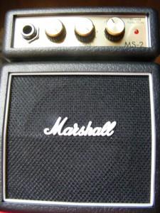 Gitarren Verstärker im Raum