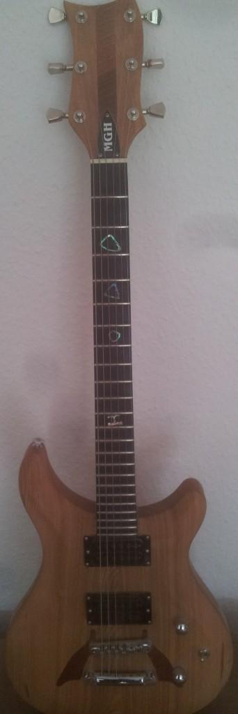 E gitarre bauen